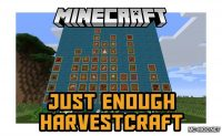 Just Enough HarvestCraft Mod for Minecraft Logo