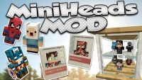 MiniHeads Mod for Minecraft Logo