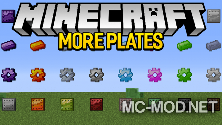 More Plates mod for minecraft logo