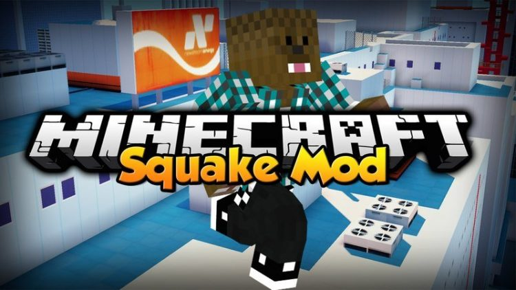 Squake Mod for Minecraft Logo