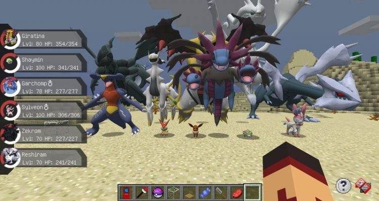 pixelmon reborn mod for minecraft 13