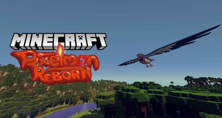 pixelmon reborn mod for minecraft logo
