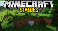 statues mod for minecraft logo