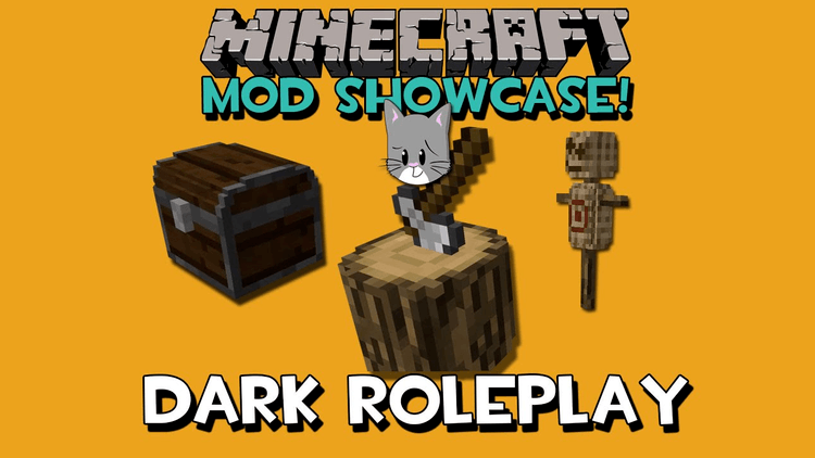 Dark Roleplay Medieval mod for minecraft logo