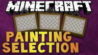 Painting Selection Gui Revamped Mod for Minecraft Logo
