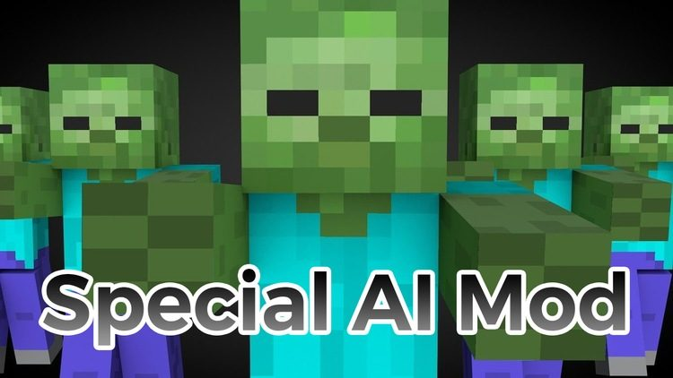 Special AI Mod for Minecraft Logo