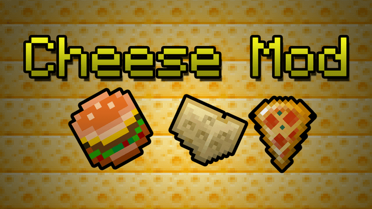cheese mod for minecraft logo