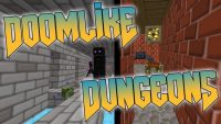 doomlike dungeons mod for minecraft logo
