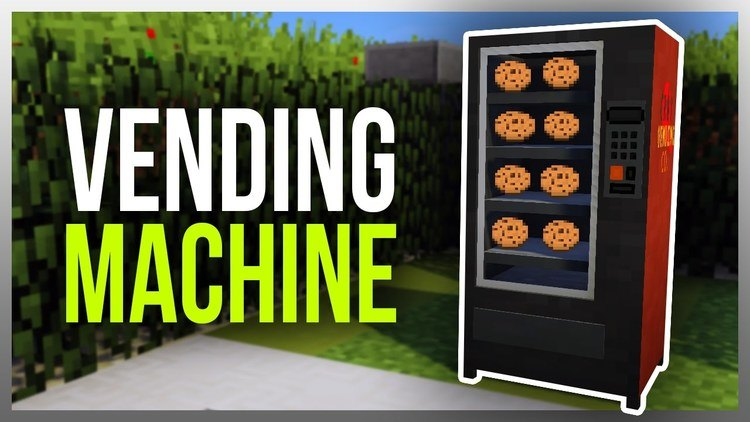 vending machine mod for minecraft logo