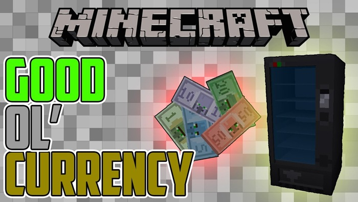 Currency mod for minecraft logo