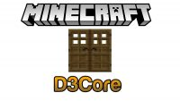 D3Core Mod for Minecraft Logo