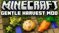 Gentle harvest mod for minecraft logo
