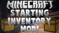 Initial Inventory mod for minecraft logo