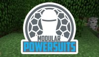 Modular Powersuits Mod for minecraft logo
