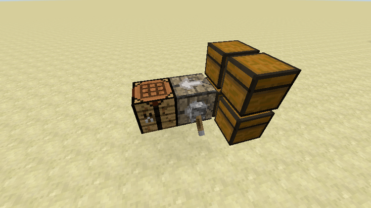 Structured Crafting mod for minecraft 02