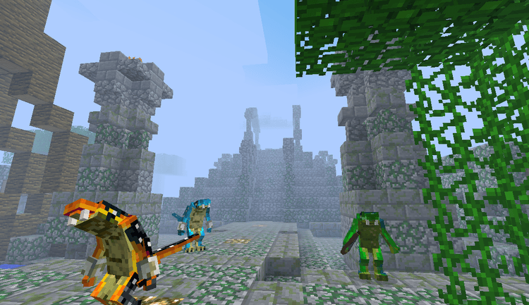 Welcome to the jungle mod for minecraft 01