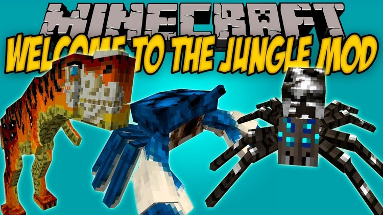 Welcome to the jungle mod for minecraft logo