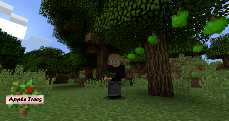 apple trees mod for minecraft 1