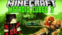 metroid cubed 3 mod for minecraft logo