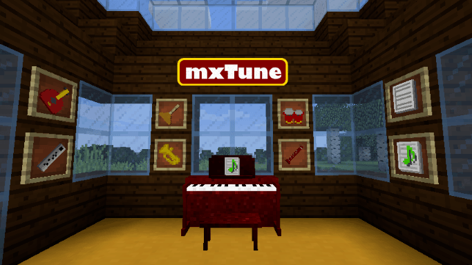 mxtune mod for minecraft logo