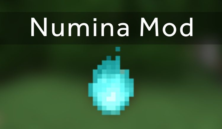 numina mod for minecraft logo