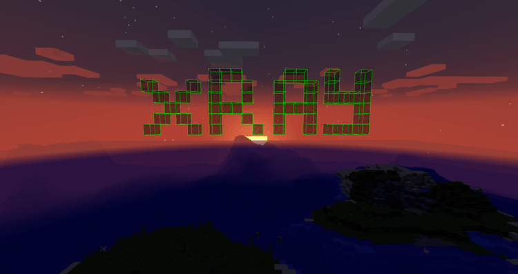 advanced xray mod for minecraft logo