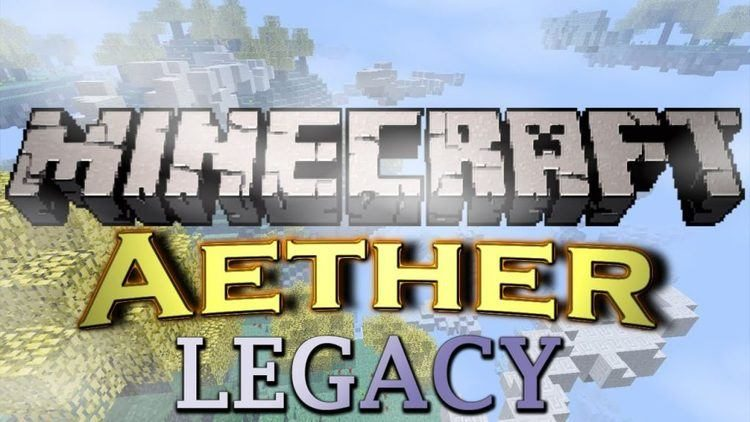 aether legacy mod for minecraft logo