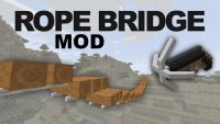 rope bridge mod for minecraft logo