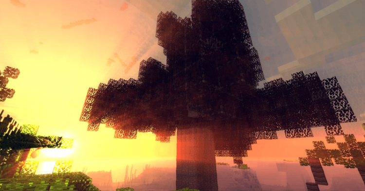 Ancient Trees L mod for minecraft 4