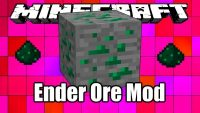 Ender Ore Mod for Minecraft Logo