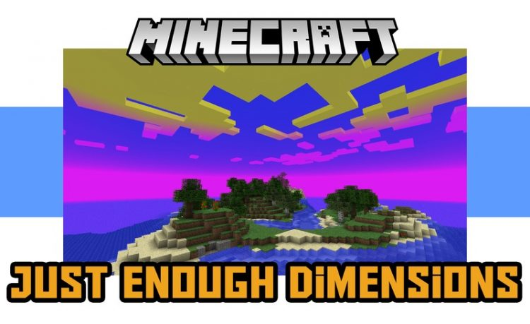 Just Enough Dimensions Mod for Minecraft logo