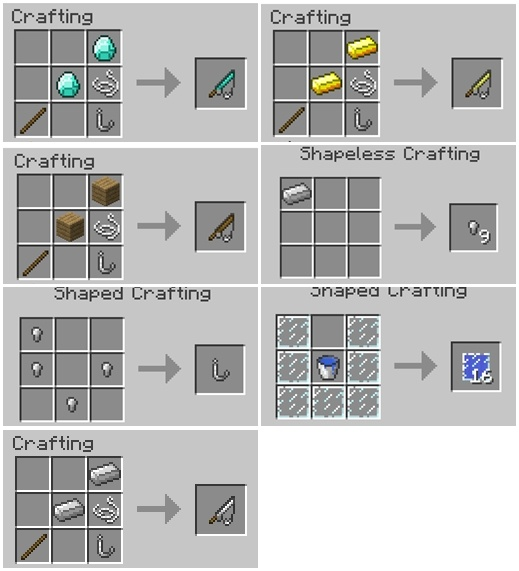 Just a Few Fish Mod for minecraft 3