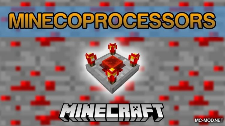 Minecoprocessors Mod for Minecraft LOgo