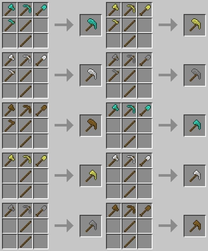Multitools Mod for minecraft 6