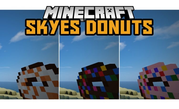 Skyes Donuts Mod for Minecraft Logo