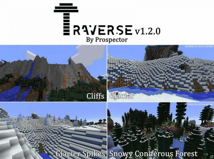 Traverse Mod for Minecraft 3