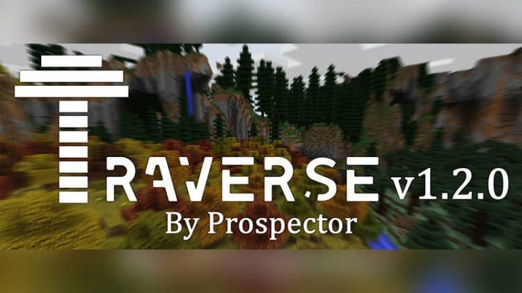 Traverse Mod for Minecraft Logo