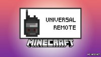 Universal Remote Mod for Minecraft Logo