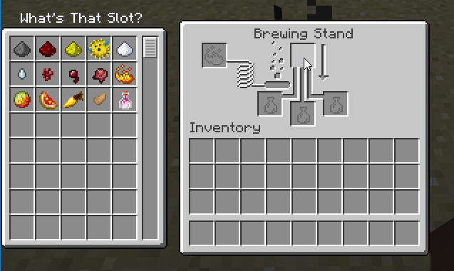 Whats That Slot Mod for minecraft_3