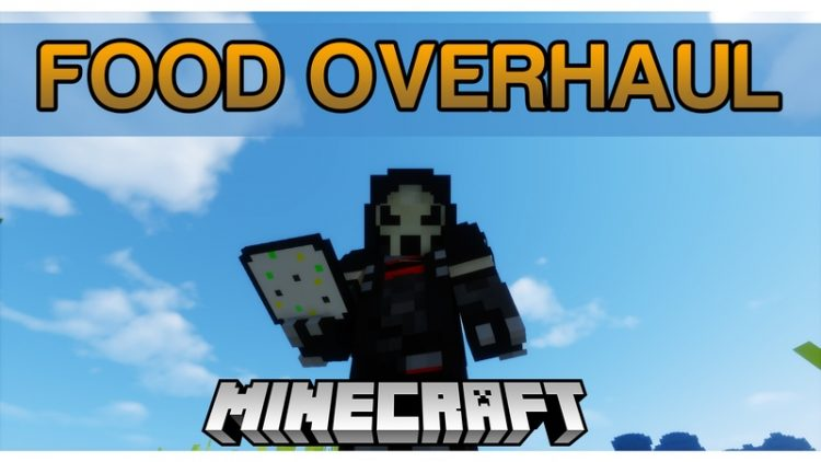 food overhaul mod for minecraft logo