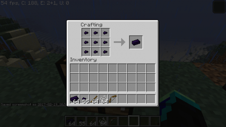 obsidian armor and tools mod for minecraft 10