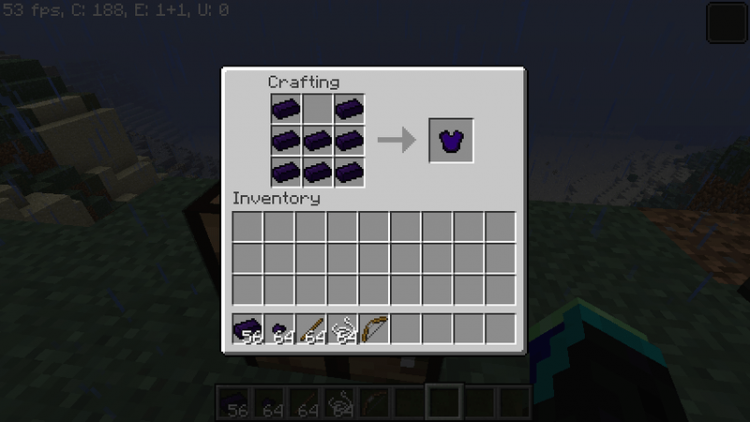 obsidian armor and tools mod for minecraft 8