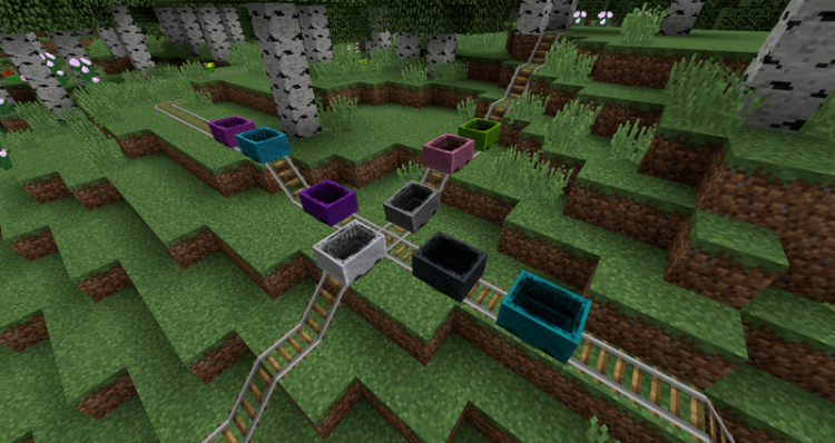 Charset Transport Carts and Rails mod for minecraft 02