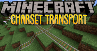 Charset Transport Carts and Rails mod for minecraft logo