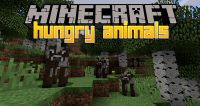 Hungry Animal mod for minecraft logo