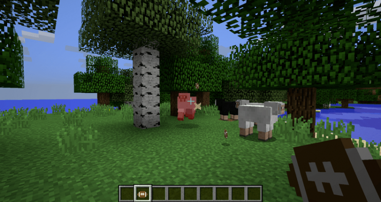Pams Pig Skin mod for minecraft 03