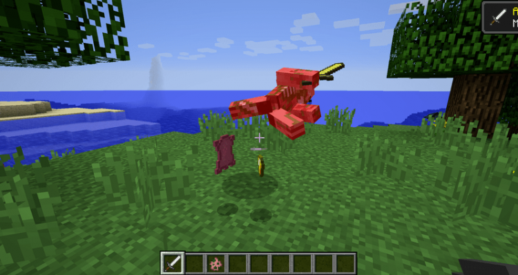 Pams Pig Skin mod for minecraft 07