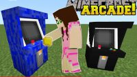 Arcade mod for minecraft logo