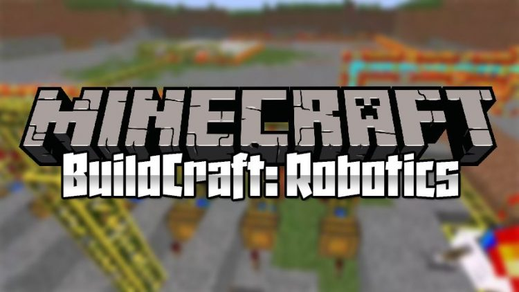 Buildcraft Robotics mod for minecraft logo