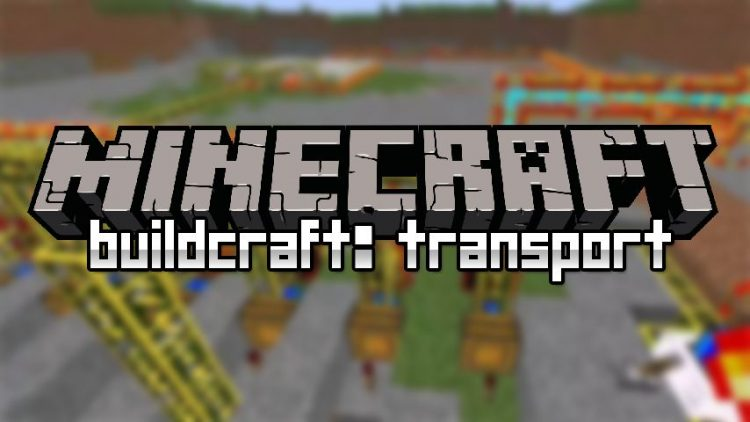 Buildcraft Transport mod for minecraft logo